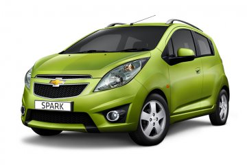 Chevrolet Spark A/C car for hire in Paphos Cyprus