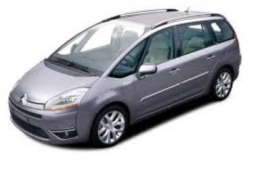 Citroen Picasso 7 Seated Automatic car for hire in Paphos Cyprus