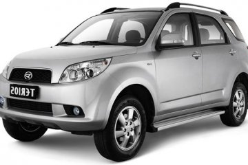 Daihatsu Terios A/T A/C car for hire in Paphos Cyprus