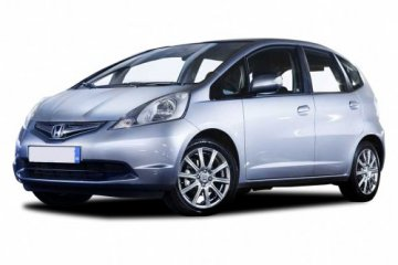 Honda Jazz A/C car for hire in Paphos Cyprus