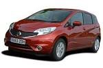 Nissan Note Automatic 2 car for hire in Paphos Cyprus