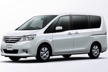 Nissan Serena 8 Seater A/C car for hire in Paphos Cyprus