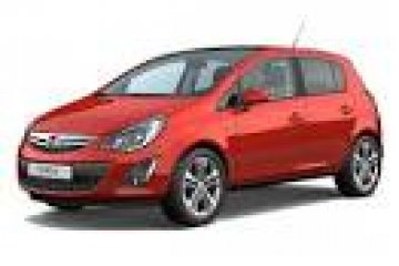 Opel Corsa car for hire in Paphos Cyprus