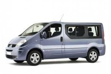 Opel Vivaro 9 Seated car for hire in Paphos Cyprus