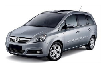 Opel Zafira 7 SEATER A/C car for hire in Paphos Cyprus