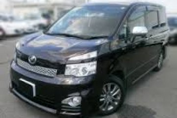 Toyota Voxy 8 Seated Automatic car for hire in Paphos Cyprus